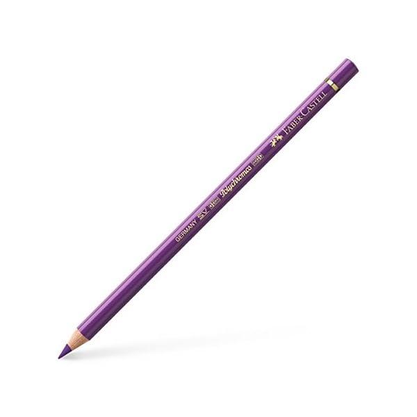 Faber-Castell Polychromos 110160 Violeta 1pieza(s) laápiz de color – Lápiz de color (1 pieza(s), Fijo, Violeta, Madera…