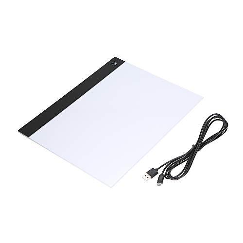 Docooler LED Graphic Tablet Schreiben Malerei A4 Kopieren Tabelle LED Board Copy Light Box Pausenbrett Pads Pausenbrett Digitale Zeichnung Tablet[Dimmen in DREI Stufen [Dimmen in DREI Stufen] -