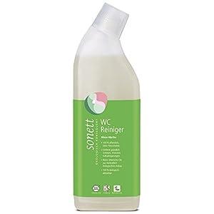 Sonett WC-Reiniger Minze-Myrthe: Entfernt gründlich Schmutz, Urinstein, Kalkablagerungen, 100% biologisch abbaubar, 0,75 l