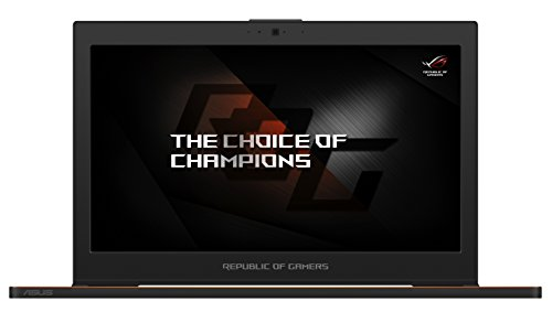 Asus ROG Zephyrus GX501VI-GZ020T 39,62 cm (15,6 Zoll Full HD) Notebook (Intel Core i7-7700HQ, 24GB RAM, 512GB SSD, NVIDIAGeForce GTX 1080, Win 10 Home) schwarz