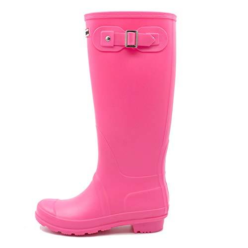 Stivali da donna lunghi Baiyouli Stivali da pioggia Stivali da pioggia  Stivali da pioggia impermeabili Scarpe 456ad37458b