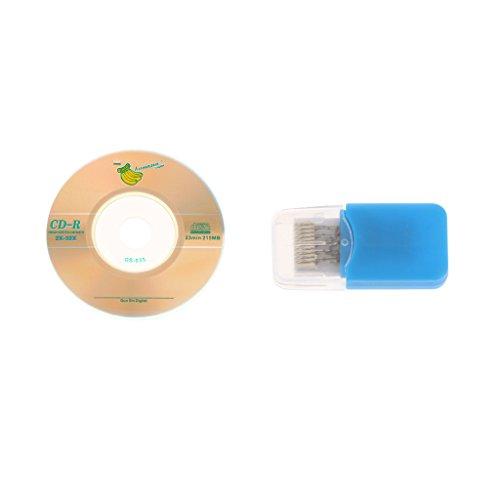 B Blesiya TF SD Karte Lesegerät Schreiber CD Adapter für Sega Dreamcast DC Spieler - Blau Einfache Installation