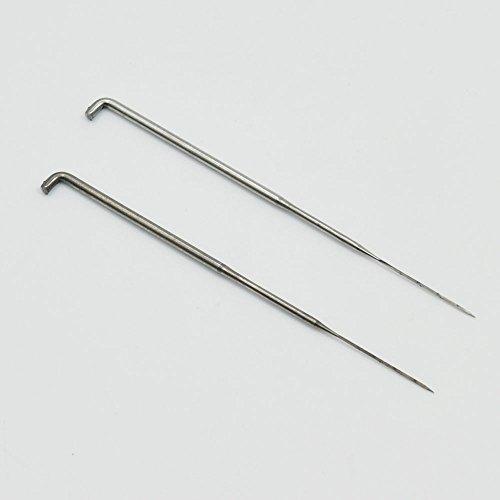 50pcs 79mm 86mm 91mm Filznadeln DIY Wolle Pin Filzen Tools Kits mittel- und Schaumstoff Pad, 79mm(3.11
