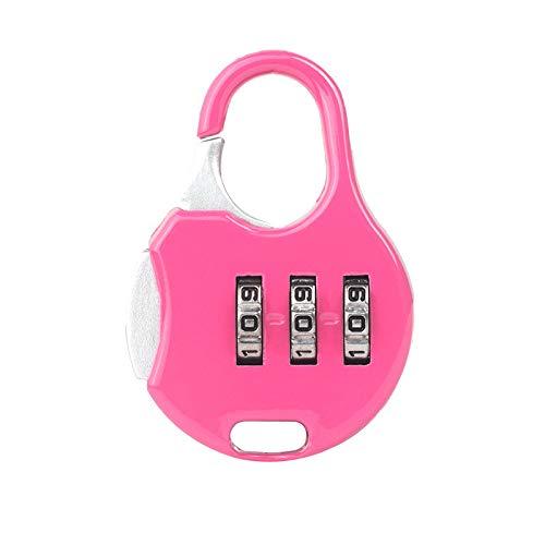 mxjeeio Passwort Vorhängeschloss, mxjeeio Zahlenschloss Vorhängeschloss mit Code für Reise, für Schule, Gym & Sports Locker, Hasp Cabinet & Storage (L)