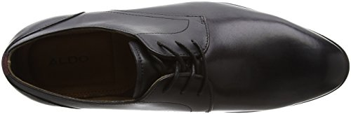 Aldo Lauriano, Derby Homme Noir (Black Leather)