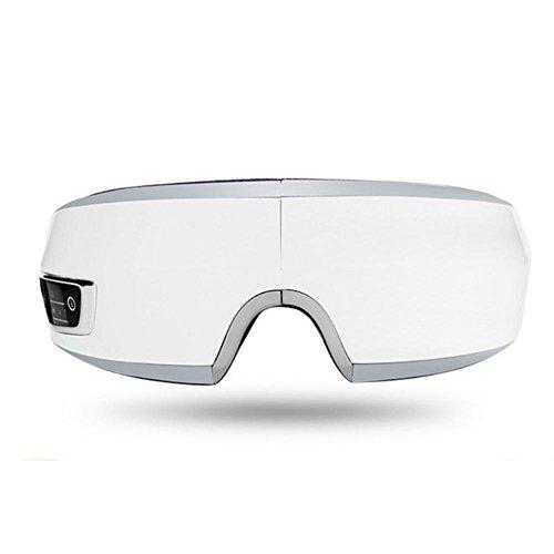 LPY-Eye Massager Brille Wärmetherapie Kabelloses Laden Falten Musik Augenpflege