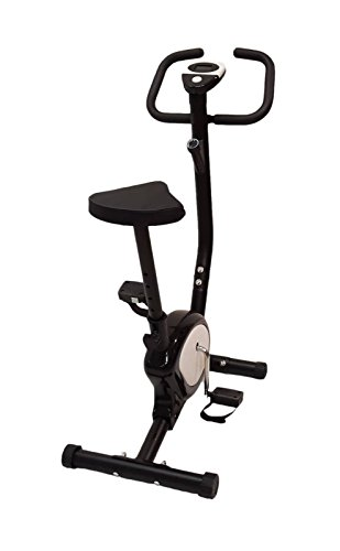 OFFERTA CYCLETTE 201 BELT CARDIO FITNESS POWER BIKE HOME ALLENAMENTO BICI DA CAMERA NERA