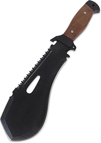 EXTREM Machete extra schwer mit Holzgriff inkl. Nylon Gürtelholster
