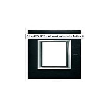 /ax-placa 2/x 3/m Hor titane SAT BTICINO Axolute ha4802/m3hnx/