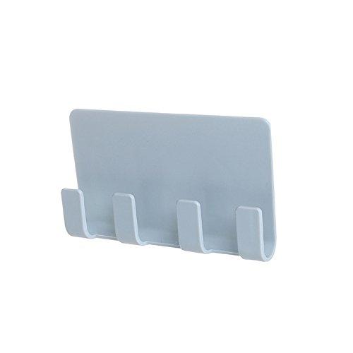 LUCHA Kreative Smartphone-Halterungen, Wandhalterung für Smartphone und Tablet, Bürobedarf, Khaki/Grün/Blau/Weiß, 3 Stück blau -