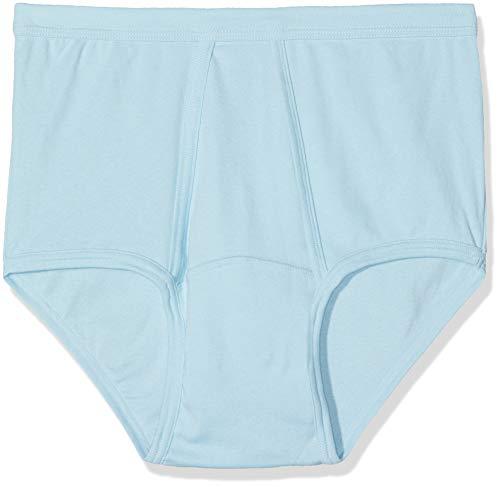 Abanderado Clásico braslip Abierto canalé Slip, Azul (Celeste 009), XX-Large (Tamaño del Fabricante:XXL/60) para Hombre
