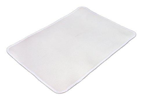 Matratzenauflage schützt Matratze vor Nässe und sorgt für freie Luftzirkulation rund ums Baby