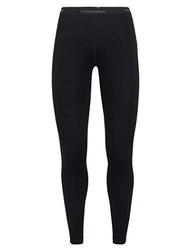 Icebreaker Damen 260 Tech Leggings Funktionshose, Black, M