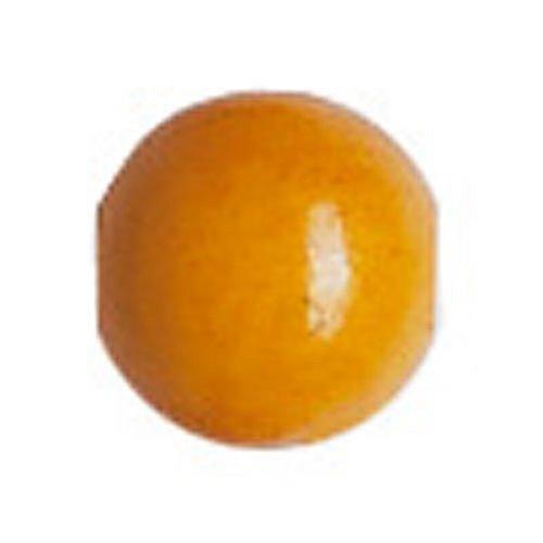 Gütermann / KnorrPrandell 6024068 - Bola de Madera de 4 mm de Perlas de maíz Amarillo, 165 Unidades / Bolsa Importado de Alemania