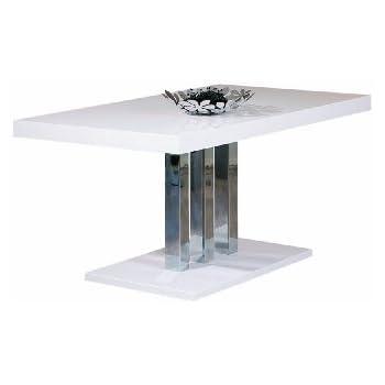 Esstisch weiß modern  Links 20801170 Esstisch Küchentisch Esszimmertisch Tisch weiß ...