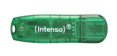 Intenso Rainbow Line 8 GB USB-Stick USB 2.0 grün -