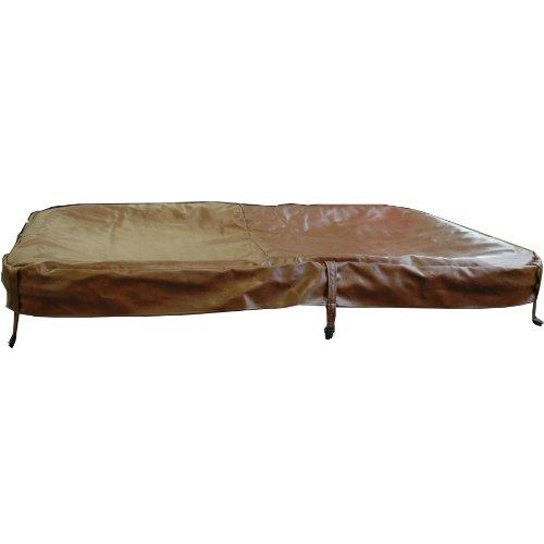QCA Spas si153Ersatz Hot Tub Flex Cover für Phoenix Spa, 80von 74-inch, Teak -