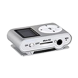 Captcha Mini Digital MP3 Player with HD LED Torch Functionality Silver