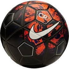 Larjonna Nike CR7 (Red/Black) replica Football. Size-5  available at amazon for Rs.699