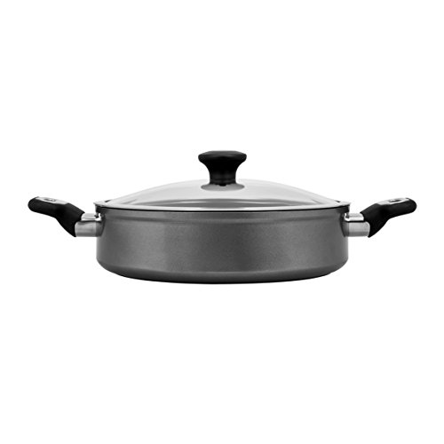 Thomas Titanium Cookware - Induction Compatible - Sauté Pan with Lid - 28cm/10in