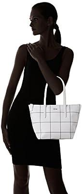 Lacoste Women's NF2032CF Cross-Body Bag, White Square (White Square), 24.5 x 14.5 x 23.5 cm