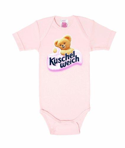 Logoshirt Chemise - Manches courtes - Bébé (garçon) 0 à 24 mois Rose Rose - Pastel Pink 38.58/40.94 inches, 2-4 years