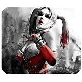 Leonardcustom- personnalisé rectangle en caoutchouc antidérapant Tapis de souris gaming mouse pad/Tapis Batman Harley Quinn–Lcmpv72