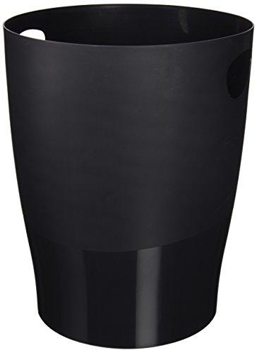 5 Star 453014AD - Papelera design Deluxe, color negro