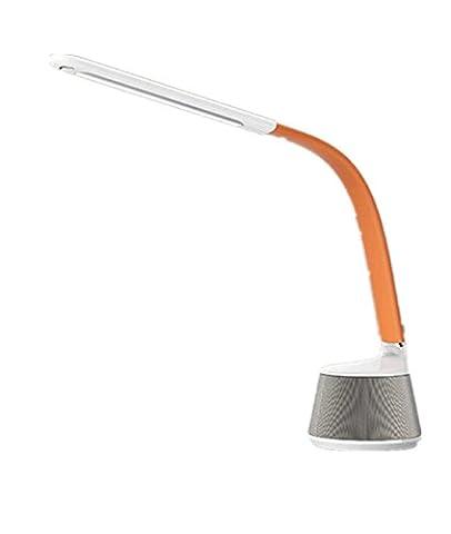 FYN Büro Schreibtischlampe Eye führte Lernen Bluetooth Audio , orange