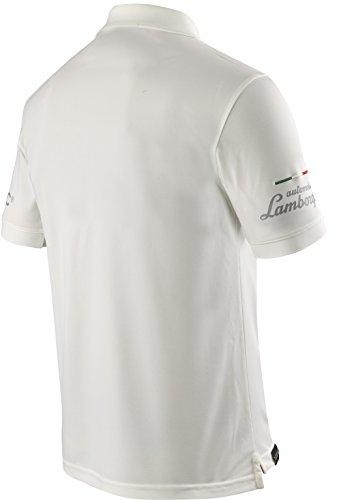 X-BIONIC for AUTOMOBILI LAMBORGHINI Herren Tech Style Pro Man Ow Short Sleeves Polo Shirt Ice