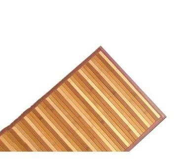 Alfombra de bambú natural-Antideslizante-Interior y Exterior -