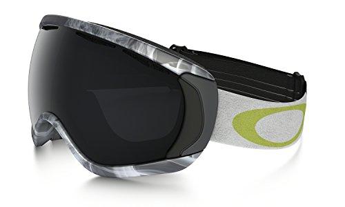 Oakley Erwachsene Snowboardbrille Canopy, Burned Out Gunmetal / Dark Gray, 59-474