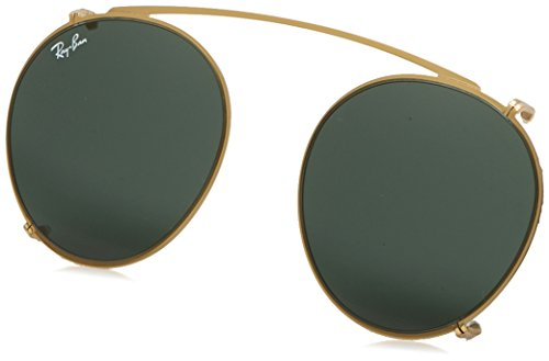 Ray-Ban - ROUND RX 2180V, Rund, Metall, Herrenbrillen, GOLD/GREY(2500/71), 47/21/0