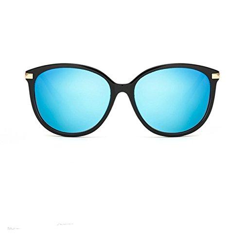 Wer Bin Ich Frau Retro-Sonnenbrille Männer Polarisator Autofahren,Blue