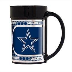 Dallas Cowboys 15oz Keramik Kaffee Becher mit Metallic Grafiken (Dallas Cowboys Keramik)