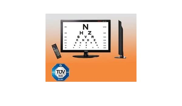 Gss Acuity Chart System 17 Color Lcdsion Acuity Digital Eye Chart