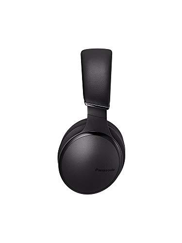 Panasonic RP-HD605NE-K Bluetooth Noise Cancelling Kopfhörer (bis 20 h Akkulaufzeit, Quick Charge, Sprachsteuerung, schwarz) - 4