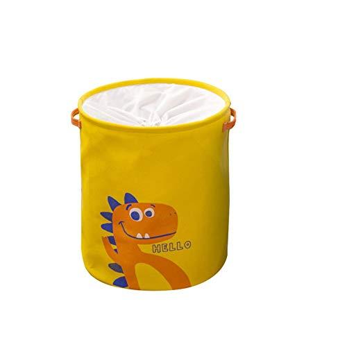 remote.S Cubo Plegable de Lino y algodón Cesta para la Ropa Sucia Bolsa de Almacenamiento para Colada Tela Cesta para la Ropa