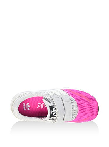 Adidas - Adidas Los Angeles Cf I Chaussures de Sport Fille Gris Fuchsia S74885 Gris