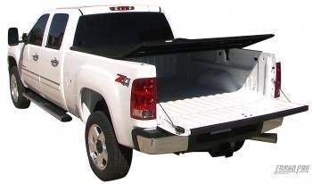 TonnoPro HF-353 HardFold Hard Folding Tonneau Cover - Truck Bed Cover - 1999-2012 Ford F250/F350/F450 With an 8' Long Bed Plus Get $59 of Free Accessories by Tonno Pro
