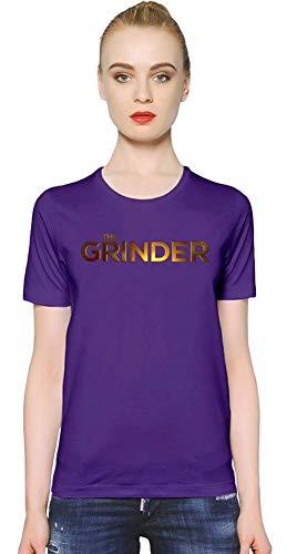 The Grinder Das Grinder-goldene Logo Golden Logo Women T-Shirt Girl Ladies Stylish Fashion Fit Custom Apparel by XX-Large