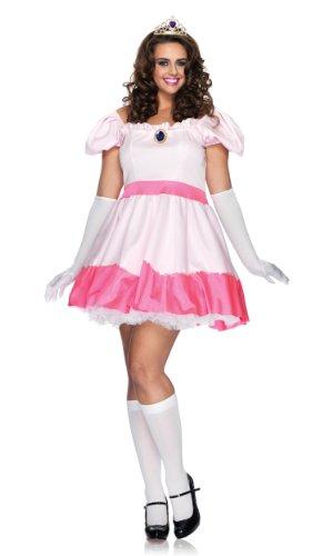 Leg Avenue 83094X - Rosa Prinzessin Kostüm Set, Übergröße: 44, rosa
