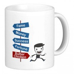Giftcart The Foodie Mug|Coffee Mugs|Printed|Microwave Safe