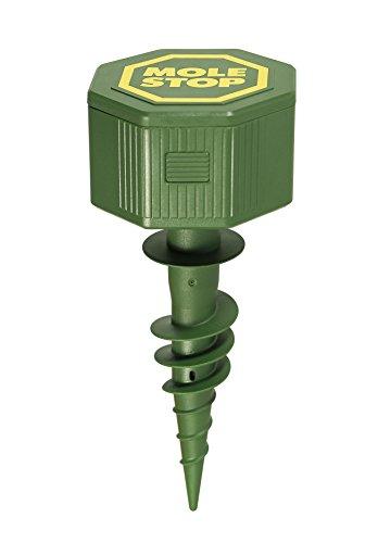 Windhager Wühlmausvertreiber MOLE STOP 1000 Wühlmausabwehr Maulwurfvertreiber Maulwurfabwehr Wühlmausschreck, Wirkungsbereich ca. 1000m², 02120