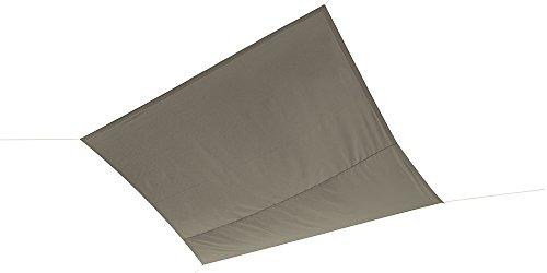 Ideanature Toile d'ombrage carré Taupe 36 x 22 x 6 cm 199063