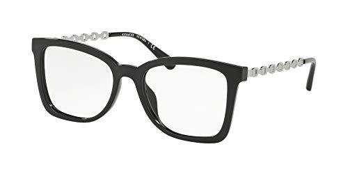 Coach HC 6128 U 5002 Brille, Schwarz
