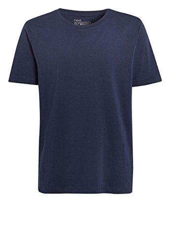 next Herren Rundhals-T-Shirts, 3Er-Pack Weiß XXXL (Pack 3 Polo-shirts)