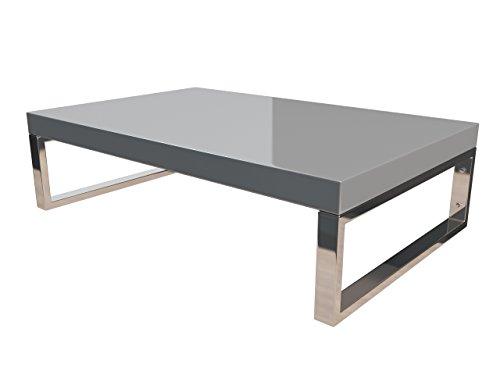 KeraBad Waschtischplatte Waschtischkonsole für Aufsatzwaschbecken und Waschschalen Holzplatte Badmöbel Tischplatte 50x45x5cm Silber Hochglanz kb-wt50120silber-9