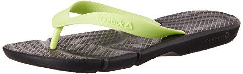 Reebok-Mens-Fresco-Flip-Black-and-Luminous-Lime-Flip-Flops-and-House-Slippers-11-UKIndia-455-EU-12-US