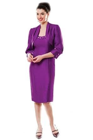 7326 Michaela Louisa 2 Piece Jacket and Dress Suit Outfit